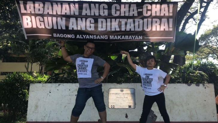 A dance protest: 'Chacha laban sa cha-cha'