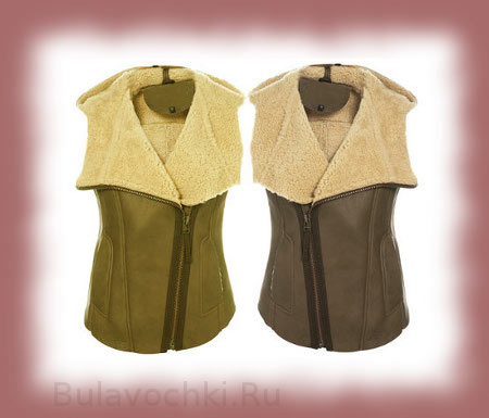 Модные женские безрукавки 2015: меховые, вязаные, дутые ...