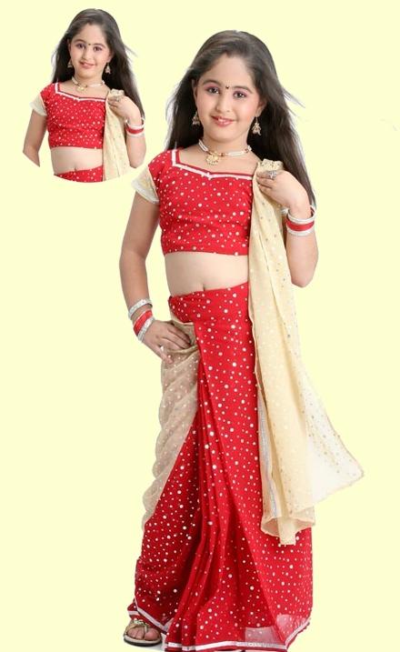 Indisches Kleidkleid