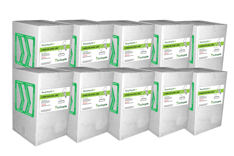 BulbCycle misc recycling kit jumbo 10 pack