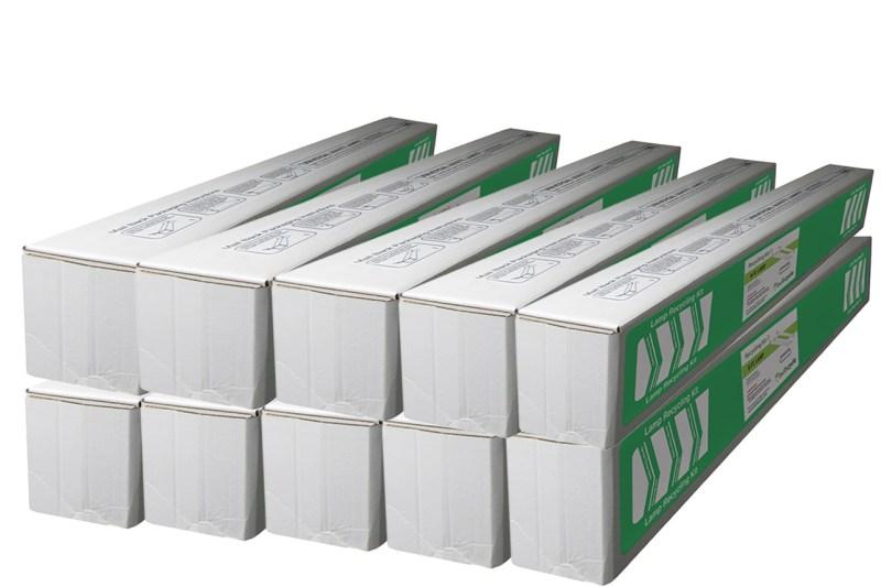 8ft. fluorescent lamp jumbo recycling kit 10-pack
