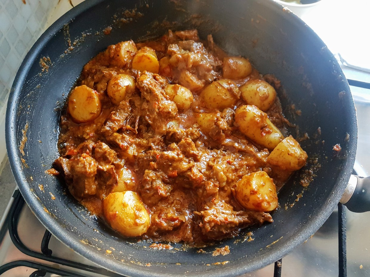 Rendang almost ready