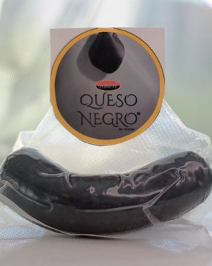 queso negro envasado