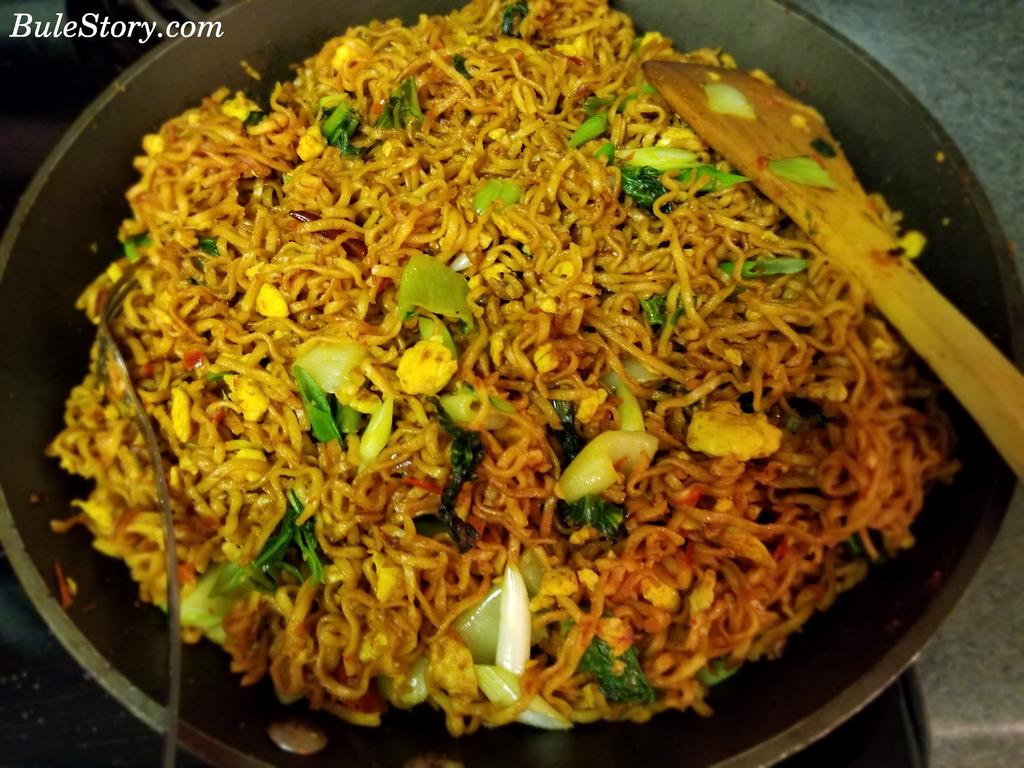 Simple Fried Noodles Mie Goreng Simple Recipe Bulestory