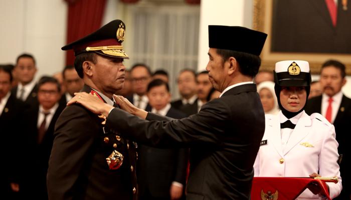 Presiden Lantik Komisaris Jenderal Idham Azis, Resmi Jabat Kapolri