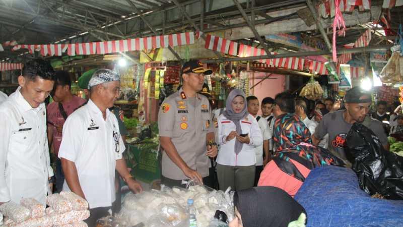 Satgas Pangan Sidak Pasar Ciamis, Pedagang Mengeluh Sepi Pembeli