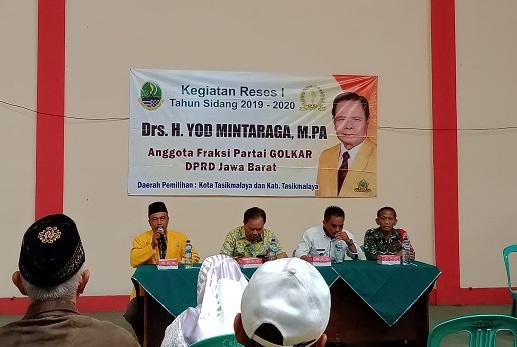 Reses I Anggota Dewan Provinsi Jabar Fraksi Golkar, Dewan harus Tahu Potensi Daerah dan Kebutuhan Masyarakat