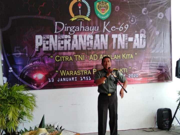 Kodam III/ Siliwangi Peringati HUT Penerangan TNI – AD Ke-69