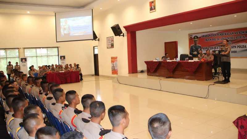 Arahan dan Pembekalan AS SDM Kapolri Kepada Siswa Diktukba Polri SPN Polda Jabar Tahun 2019/2020