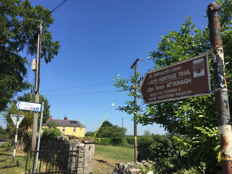 All roads lead to Attanagh's Irish Fly-Fishing and Game Shooting Museum, on Day One of this year's Bulfin Heritage Cycle Rally.