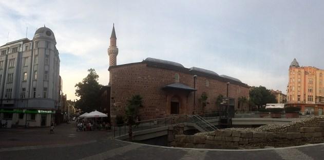 Philippoloksen stadium ja Dzhumaya-moskeija