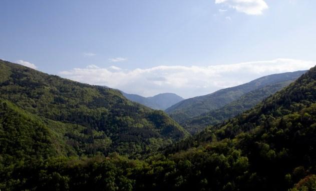 Rodopi-vuoristoa