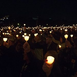 Photo from Wikimadia Commons, cropped: File:29th annual Candlelight Vigil (34534663942).jpg