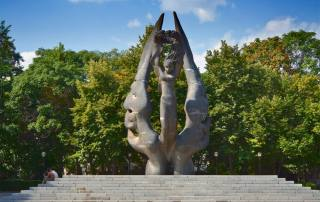 The Unification Monument in Plovdiv