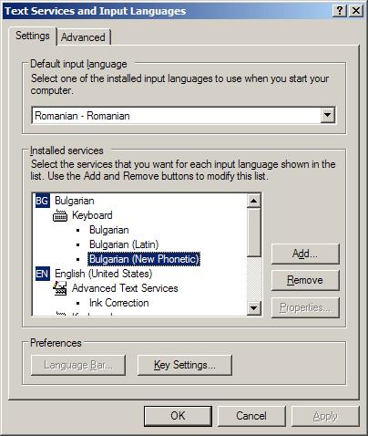 Windows XP - New Phonetic