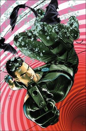 Dick Grayson as a secret agent