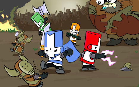 The Behemoth Giving Away Free Castle Crashers King Pack DLC Codes