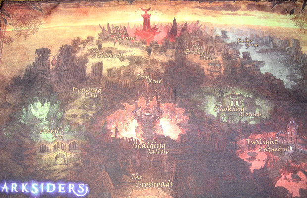 Darksiders Cloth Map Acquired You Can Win One Too
