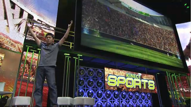 E3 10 Kinect Sports By Rare Brings Full Body Waggling