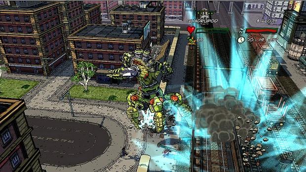 City Smashing Game Eat Them Coming To PSN