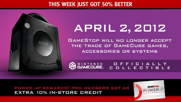GameStop No Longer Wants Your GameCube Trade Ins
