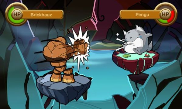 Finally, a Pokemon-like game for mobile devices