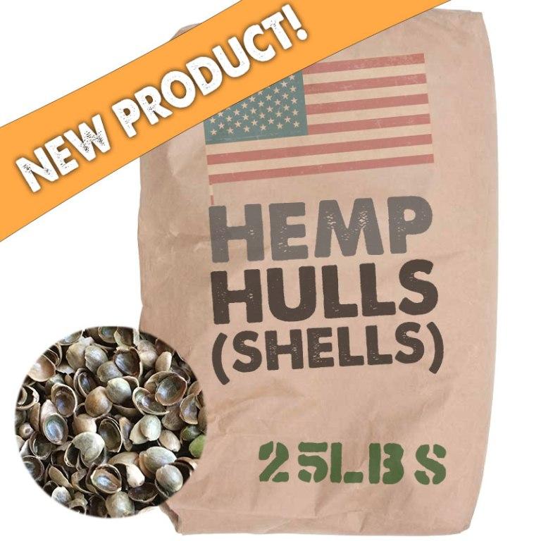 Hemp Seed Hulls