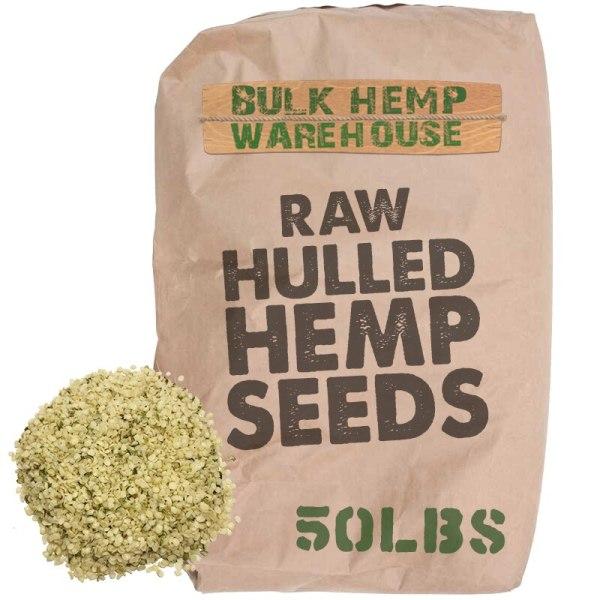 Hulled Hemp Seed Hearts, Bulk Wholesale 50lbs