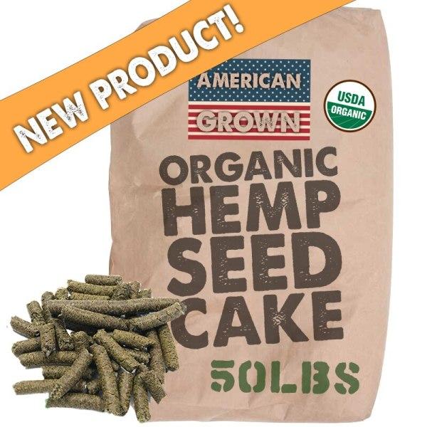 Organic Raw Hemp Seed Cake Bulk Wholesale - 50lb