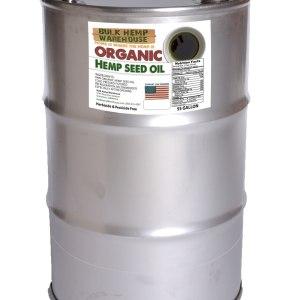 Organic Cold Pressed USA Grown Hemp Oil   200 Liters
