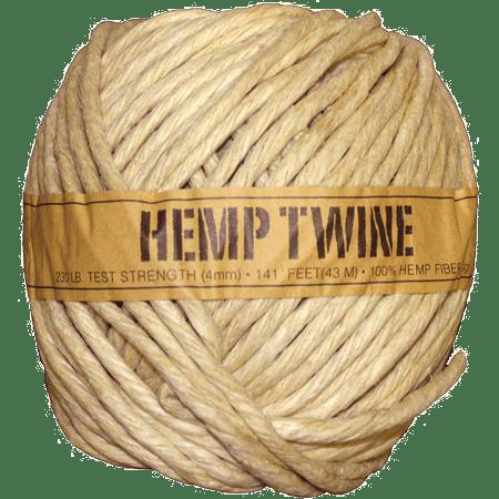 Hemp Twine Ball - 4mm