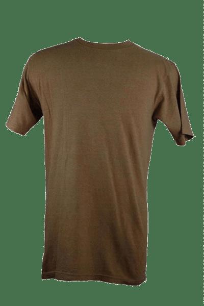 Mens Blank Hemp T Shirt - Olive Green