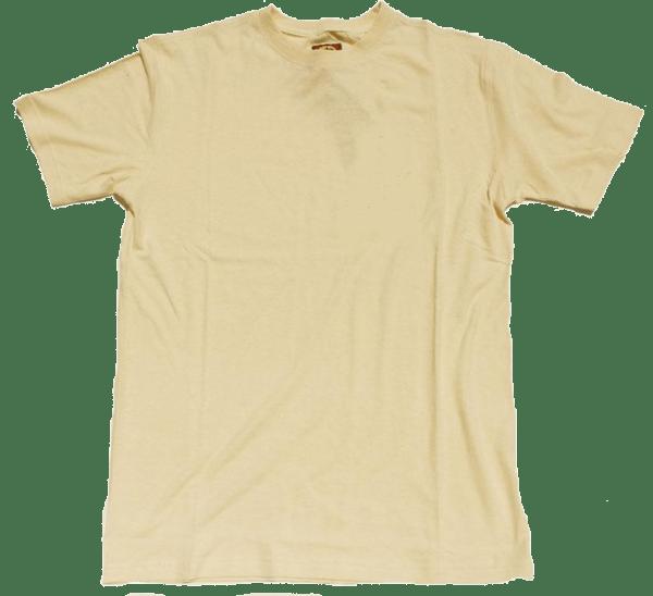 Natural Hemp T Shirt  Blank