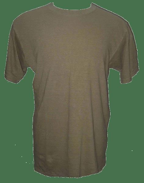 Mens Blank Hemp T Shirt - Sage