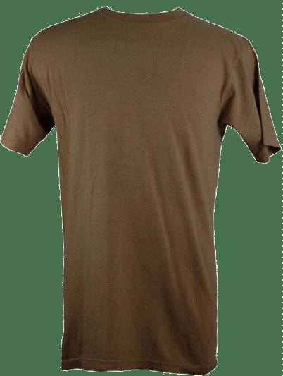 Mens Blank Hemp T Shirt - Sand