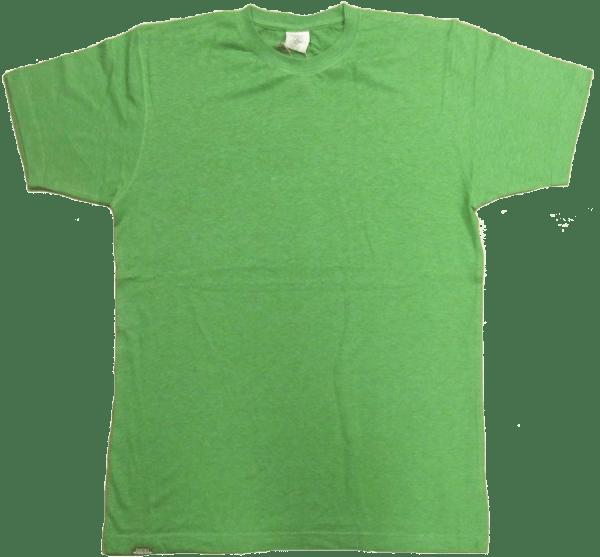 Mens Blank Hemp T Shirt - Terpene Green