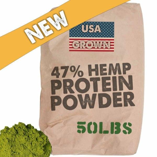 USA Hemp Protein 47% - Bulk Wholesale 50lb