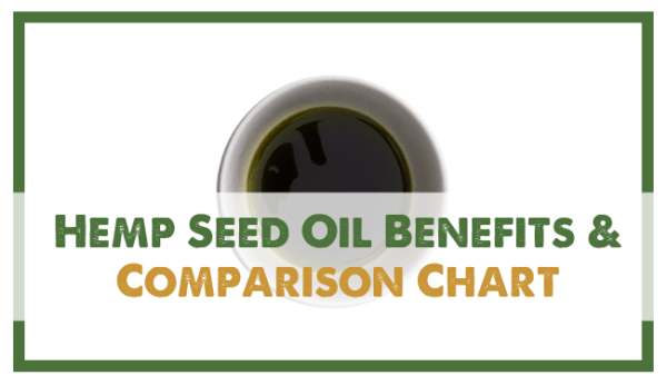 Hemp Seed Oil Benefits and Comparison Chart