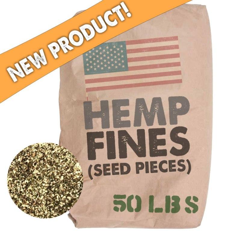 USA Hemp Seed Fines - 50lb