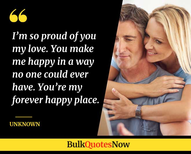 quotes about being proud of someone you love