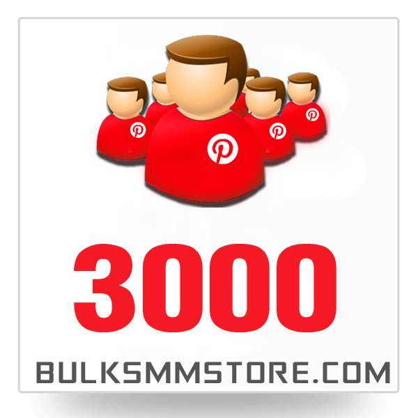 Real 3000 Pinterest Followers