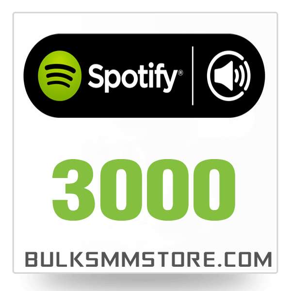 Real 3000 Spotify Play