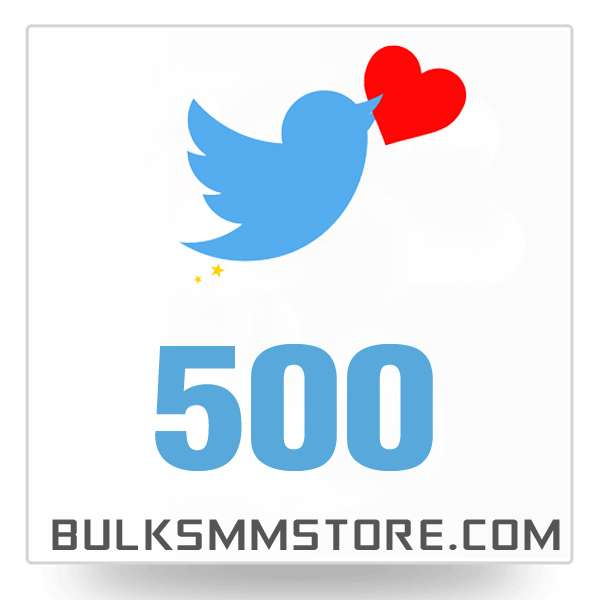 Real 500 Twitter Likes