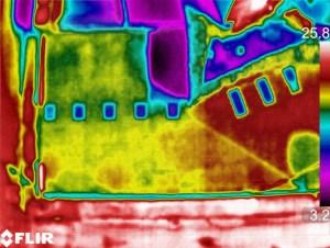 Termografia capannone azimutale