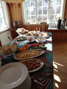 Middag på Österhamns pensionat
