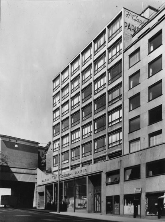 Hammersborggata-førsteetasjer-1950-tallet