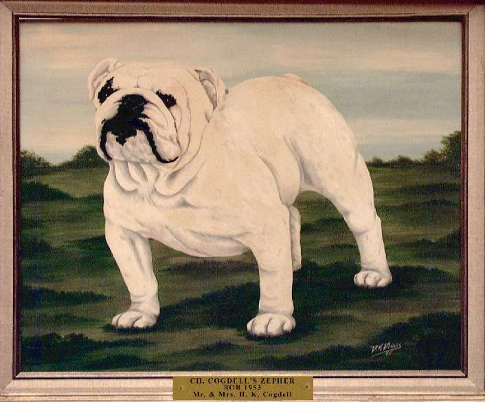 Best of Breed: Ch. Cogdell's Zepher