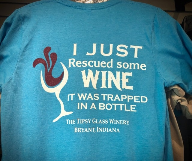 I Just Rescued Some Wine T-Shirt $18.00