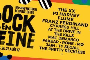 Rock en Seine 2017 affiche