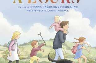 La Chasse à l'ours de Joanna Harrison et Robin Shaw afffiche film